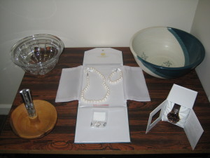 Bid on these great items and more at the 2014 Empty Bowls Dinner and Silent Auction